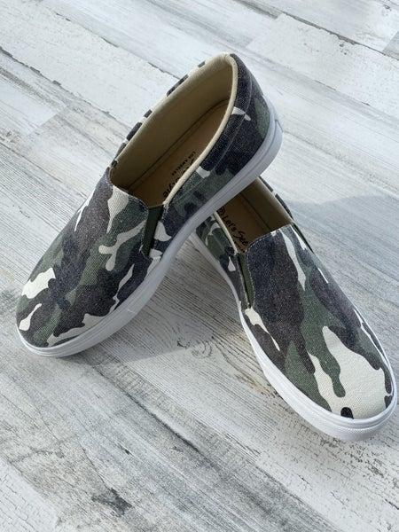 Brody - Camo Slide Sneaker