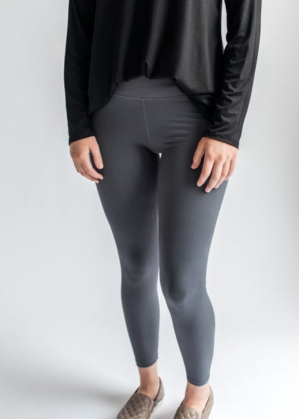 Everyday Buttah Leggings - Charcoal