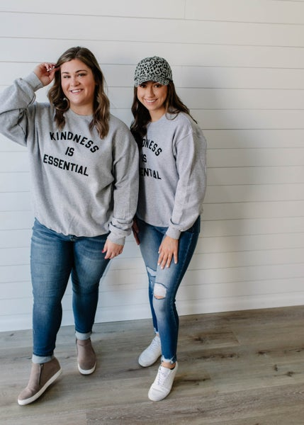 Kindness Is Essential Graphic Sweatshirt