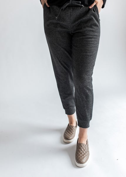 Cole - Charcoal Joggers