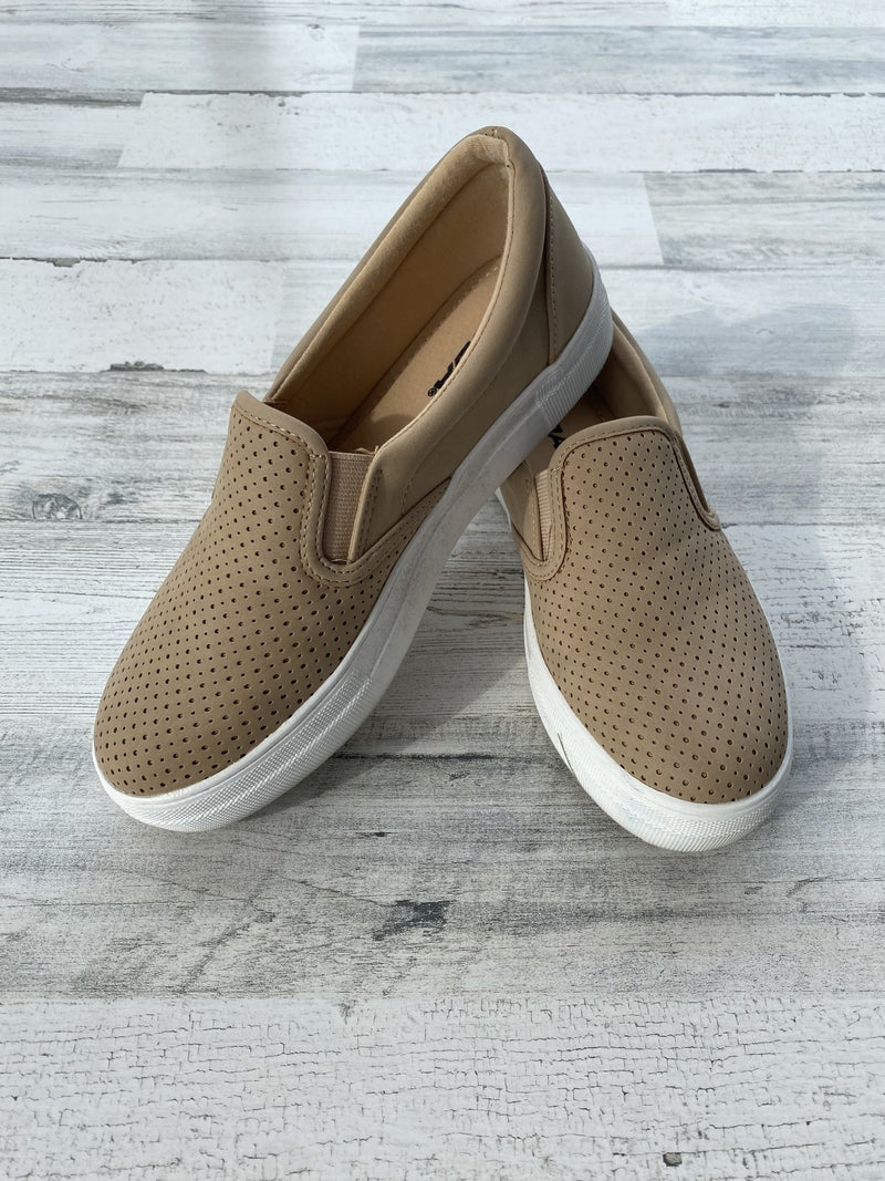 Kroy - Dark Natural Slide Sneaker