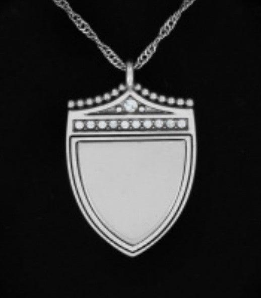 Brighton Medaille Shield Necklace