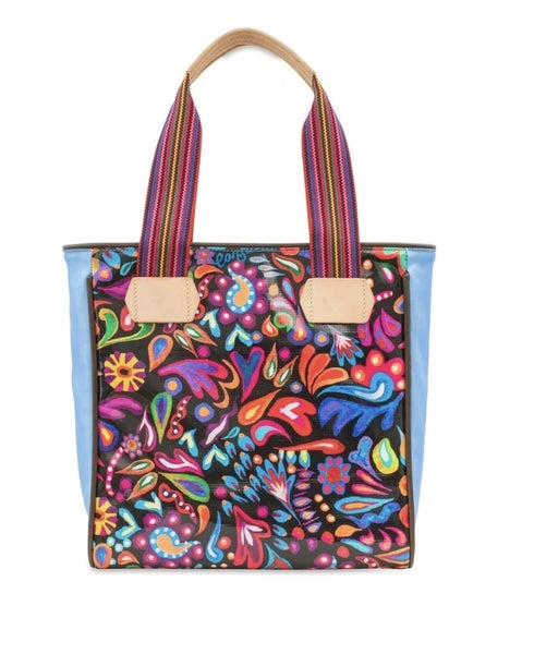 Classic Tote Sophie Black Swirly