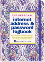 Internet Address and Password Logbook