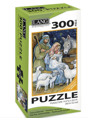 Sheep Nativity 300 Pc Puzzle