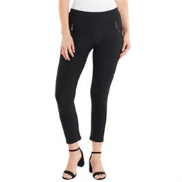 Jasmine Zip Pocket Leggings Black