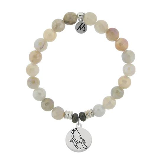 Moonstone Cardinal Bracelet