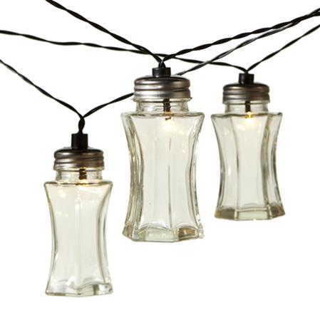 Vintage Slim Jar LED String Light