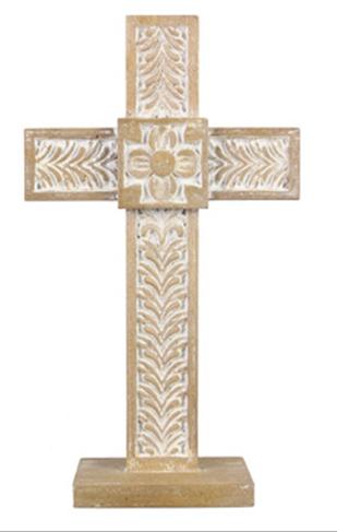 Wood Tabletop Cross
