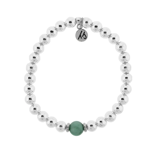 The Cape Bracelet with Emerald