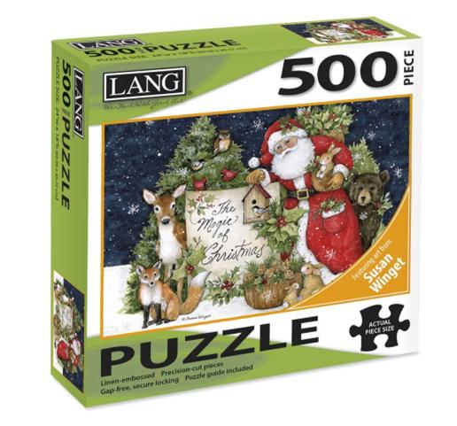 Magic of Christmas 500 Pc Puzzle