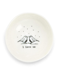 I Love Us Trinket Dish