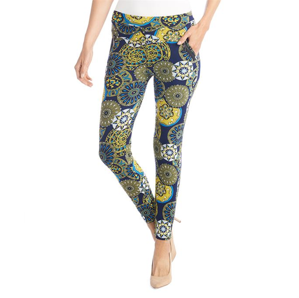 Jasmine Zip Pocket Leggings Apple Green