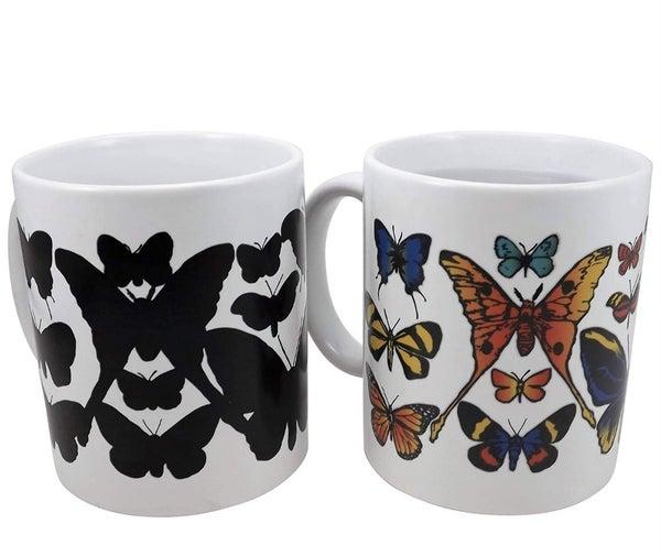 Butterfly Heat Changing Mug