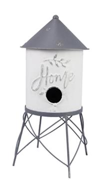 Metal Watertower Birdhouse ***Local Pickup Only***