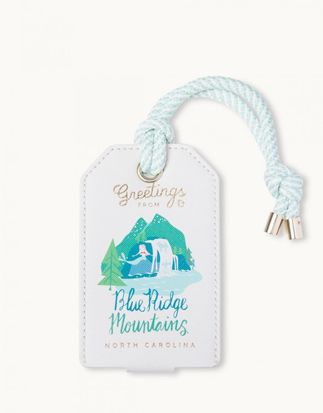 Luggage Tag Blue Ridge Mountains