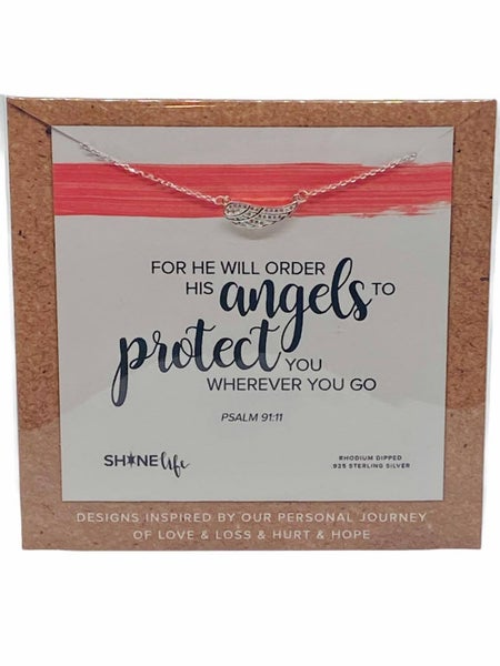 His Angels Will Protect You Necklace by ShineLife