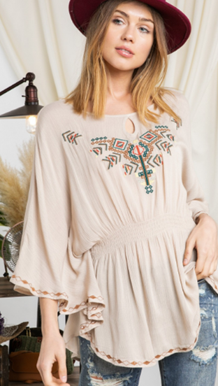 Aztec Day Top