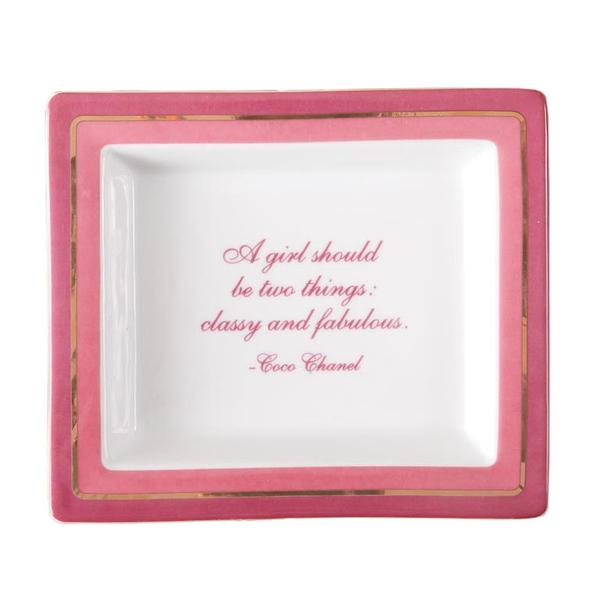 Classy & Fabulous Tray in Gift Box