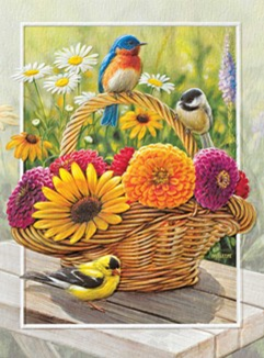 Summer Blossoms Boxed Note Cards