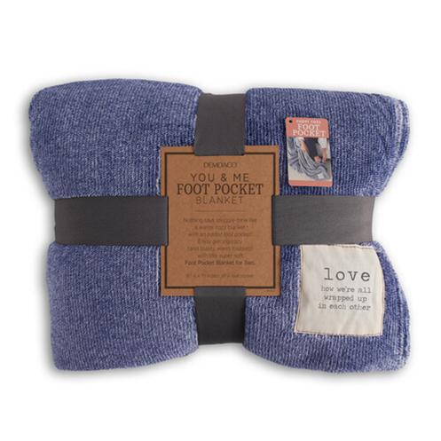 Love Foot Pocket Blanket