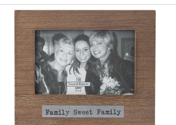 Photo Frame Family Sweet Family