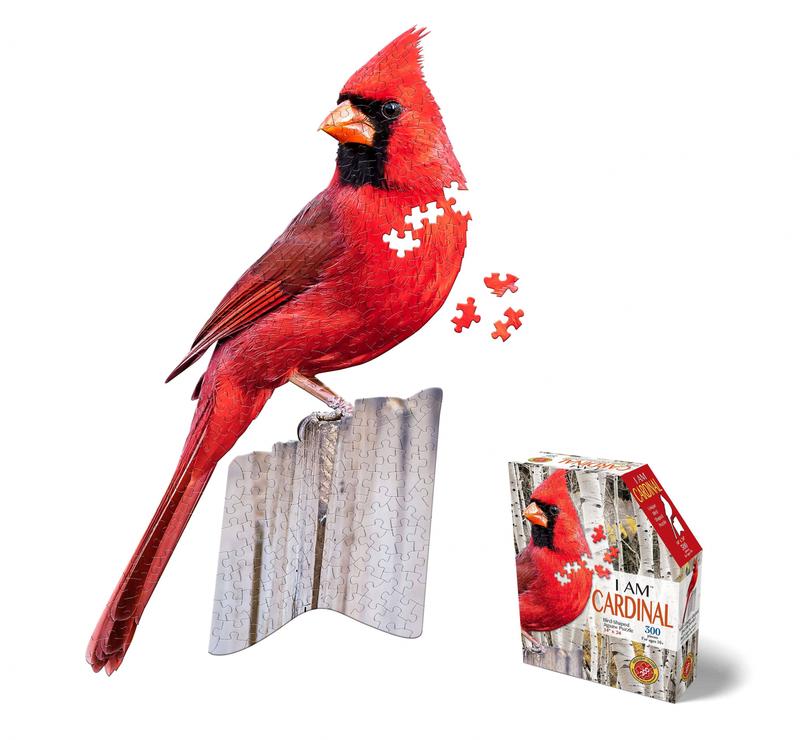 Puzzle I Am Cardinal