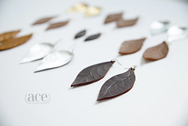 Ace Teardrop Earrings