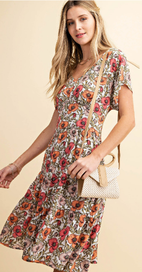 Country Girl Floral Dress