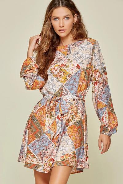 Multi Woven Dress