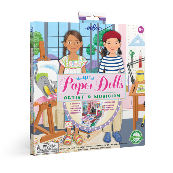 Musician and Artist Paper Doll Set