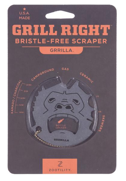 Grrilla Grill Right Bristle Free Scraper