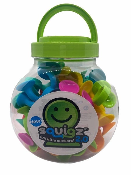 Squigz 2.0 Set of 36 Suction-Cup Building Pieces