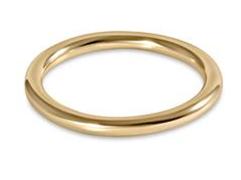 E Newton Classic Gold Band Ring