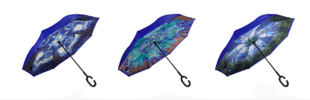Artisan Upside Down Umbrella