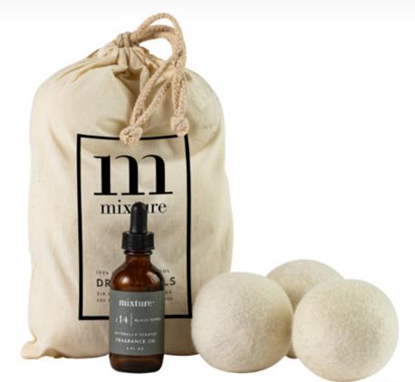Mixture 3 Pack Wool Dryer Balls No. 5 Salt & Sage