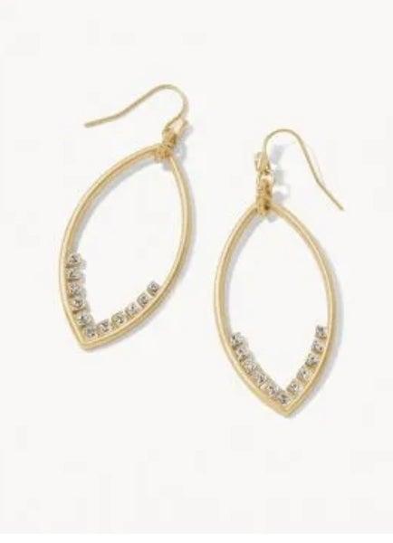 Spartina Petal Sparkle Earrings