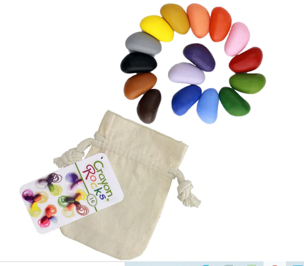 Crayon Rocks Set of 16