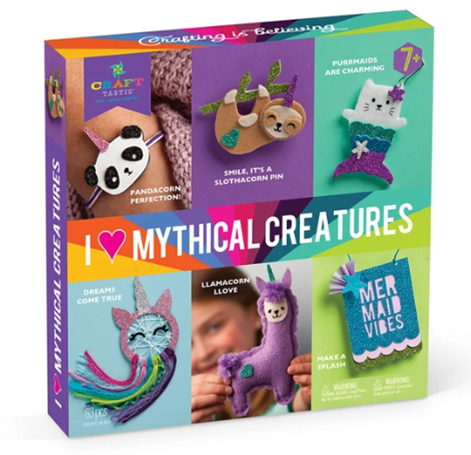Crafttastic I Love Mythical Creatures