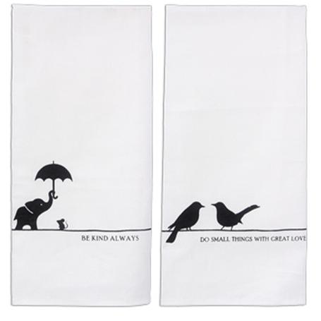 Cotton Tea Towel Asst Designs