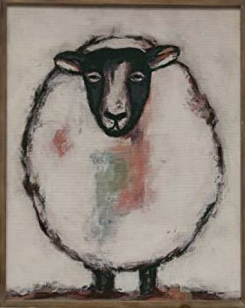 Sheep Wall Decor ***Local Pickup Only***