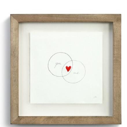You and Me Circles Wall Art