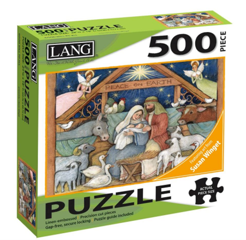 Good Will to All 500 Pc Puzzle
