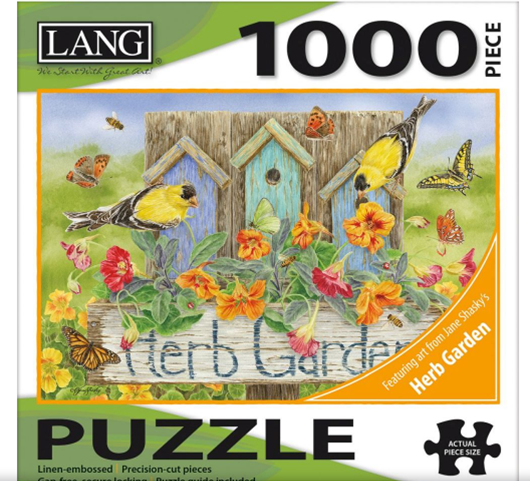 Lang Herb Garden Puzzle 1000pc