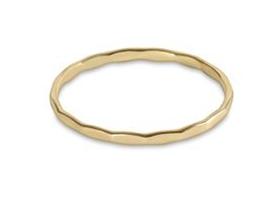 E Newton Harmony Flat Gold Ring