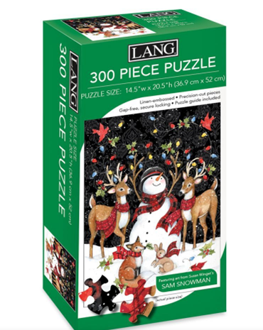 Snowy Lights 300 Pc Puzzle