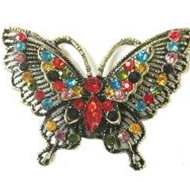Butterfly Magnetic Brooch