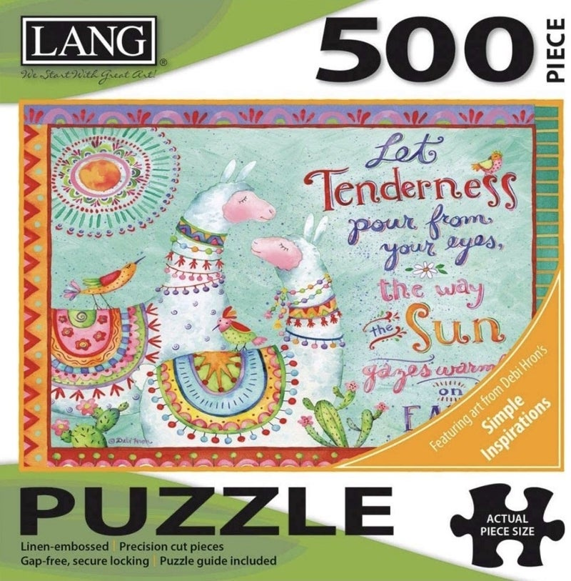 Lang Puzzle Tenderness 500 Pc