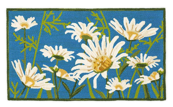 Hooked Rug Daisies ***Local Pickup Only***