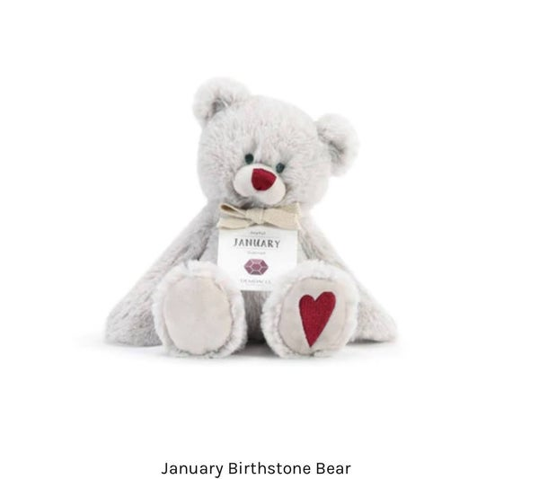 Sweet Birthstone Bears for Each Month